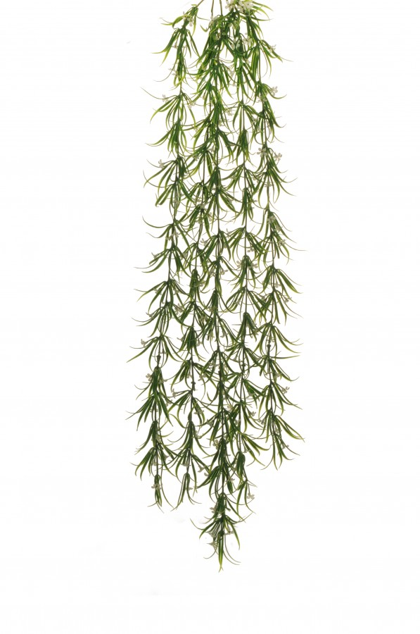 ROSEMARY PLASTIC HANGING BUSH X5 W CREAM