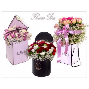 FLOWERS BOX - ACCESSORI BOMBONIERE