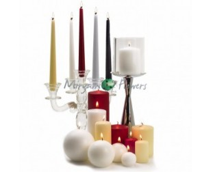 MOCCOLI CANDELE CONICHE CANDELA LED