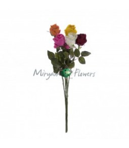 NEW OPEN ROSE COLORI ASSORTITI H.66 CM