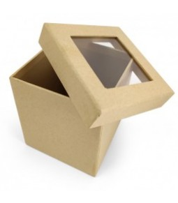 PANDORE SQUARE BOX WITH WINDOW