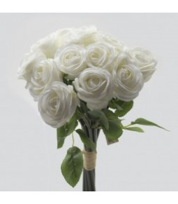 ROSE BUNCH L.45 BUNCH12HEAD 7WHITE 12 96