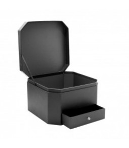 FLOWER BOX BLACK 25X25X16 **1 16**