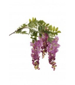 WISTERIA HANGING BRANCH GROUPS OF FLWS L. 24 CM
